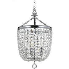 5 light polished chrome transitional traditional crystal chandelier dd in clear swarovski strass