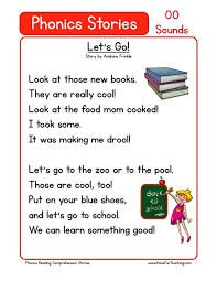Get all these free phonics worksheets to help students become more comfortable with reading. Worksheet First Grade Reading Comprehension Worksheets Free Phonics Oo Sounds Printable Phonics Comprehension Worksheets Worksheet Middle School Biology Worksheets 100 Division Problems Math Plot Cool Math Games Chess Clock Time Worksheets Worksheets