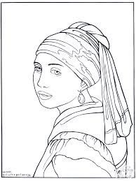 Small Picture Famous Art Coloring Pages Free Famous Art Coloring Pages For Kids
