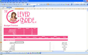 wedding planning on a budget 15 useful wedding spreadsheets excel spreadsheet