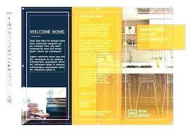 Adobe Indesign Tri Fold Brochure Template Template Templates