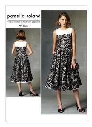 Vogue Patterns Dresses Impressive V48 Misses' Sleeveless LaceOverlay Dress Sewing Pattern Vogue