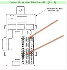 honda civic 03 fuse box honda wiring diagrams