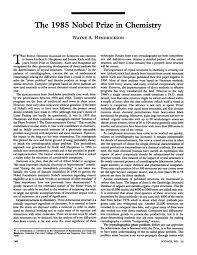 the nobel prize in chemistry science pdf extract preview