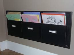 wall mounted file organizers