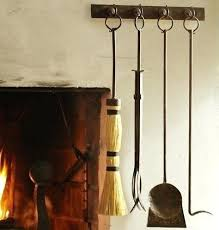 best fireplace tools fireplace tools to hang on the lower part of a built in bookcase