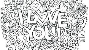 Inspirational I Love You Coloring Pages For Adults For Love You