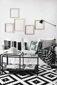 lving room home decor decoration black white carpet ikea carpet white
