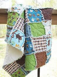 Rag quilt for baby boy! | Quilts | Pinterest | Rag quilt, Boys and ... & Rag quilt for baby boy! Adamdwight.com