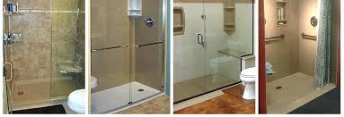 convert bathtub to walk in shower converting tub into walk in shower cost