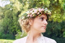 Couronne De Fleurs Naturelles Ou Couronne De Mari E Bijoux