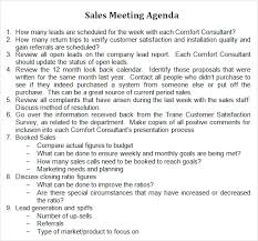 agenda template for word sales meeting agenda 7 free download for pdf word