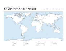 Printable Empty Map Of The World Download Them Or Print