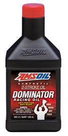 Amsoil Dominator Synthetic 2 Stroke Racing Oil