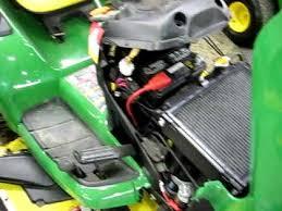 thunderbird show park john deere x garden tractor engine thunderbird show park john deere x540 garden tractor engine running
