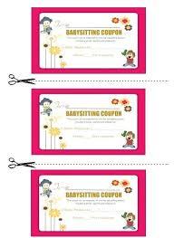 babysitting schedule template babysitting coupon book template 2 strand helenamontana info