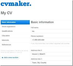 Build Online Resume Gyomorgyuru Simple Build A Resume Online Free