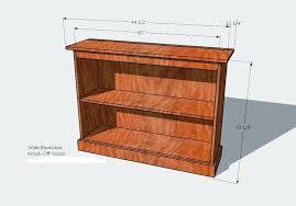 wood bookshelf plans 28 images pdf diy bookcase plans