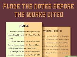 3 Ways To Do Endnotes Wikihow