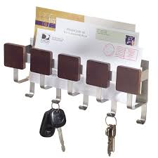 office key holder. Interdesign Steel Mail Key Rack Letter Holder Wall Mount Modern For Hook Hanger Organizer Office Products