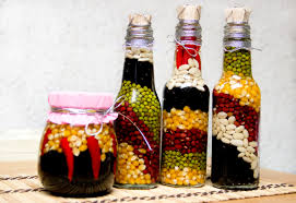 Decorative Vegetable Bottles How to Make Decorative Bottles for the Kitchen 100 Steps 2