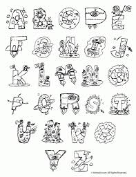 Small Picture Alphabet Coloring Pages A z pertaining to Motivate in coloring