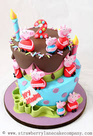 10 Peppa Pig Birthday Cupcake Cakes Photo Peppa Pig Birthday Cake