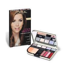 l oréal l oreal paris color harmony make up palette brunettes