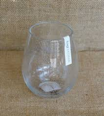 tag bubble glass stemless wine