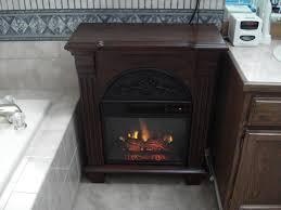 regent 18 antique mahogany electric fireplace petit foyer mantel package 18pf338 m215