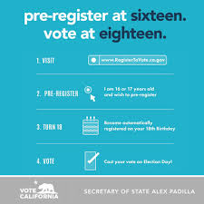 California New Pre-registration Election Academy Initiative Online Electionlineweekly On