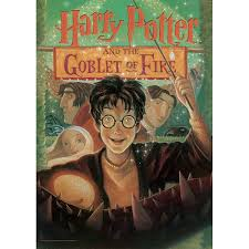 mightyprint harry potter book cover goblet of fire graphic art print wayfair