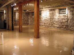 cement basement floor ideas. Photo 2 Of 10 Paint Concrete Basement Floor Ideas, Plus Ceiling,,,beige Instead White Or Cement Ideas