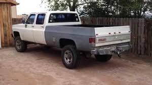1979 Chevrolet K20 3+3 Silverado Crewcab diesel - YouTube