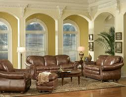 Leather Living Room Sets Duplin Leather Living Room Set Leather Italia Furniture Cart