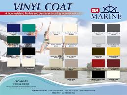 Sem Marine Vinyl Coat Color Chart Marine Vinyl Coat 12oz Aerosol By Sem