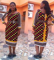African Khanga Designs African Print Khanga Dress From Hilget Designs African