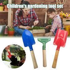 rake shovel with sy wooden handle