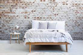White Painted Brick Wallpaper Mural
