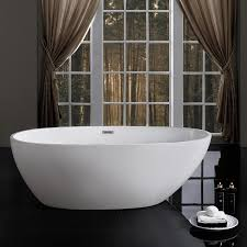 67 naples freestanding bathtub