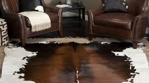 cow hide rugs attractive interior decor ideas area cowhide rug living room regarding 19