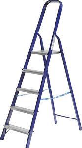 Лестница-<b>стремянка Сибин</b> стальная, <b>5 ступеней</b> - Сад и огород ...