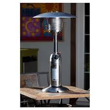 legacy table top propane patio heater