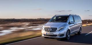 Efficient motor means better gas mileage. The V Class The Spacious Sedan With The Star