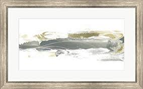 32x20 Frame Amazon Com Neutral Geology Iv By June Erica Vess Framed Art