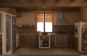 Rustic Kitchen Furniture Rustic Kitchen Cabinets Design Ideas Rustic Green Kitchen
