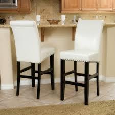 Leather elegant bar stools 3