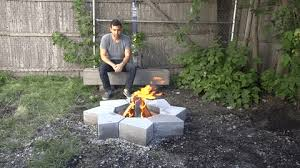 how to build a customized fire pit