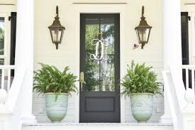 front door accessories12 Front Doors that use Wreathes as the Perfect Accessory