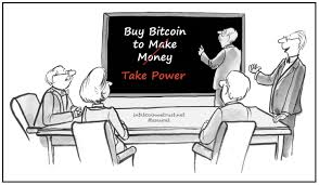 Una persona que en aquella época hubiera invertido 1 000 $ en bitcoins. Compre Bitcoin Para Tomar El Poder No Para Ganar Dinero